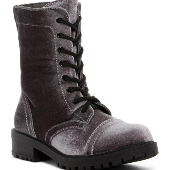 Madden Girl Shoes   Rex Grey Velvet
